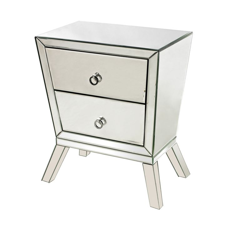 If you love the cool stylings of the 1920s and a chance to check out your makeup every which way you turn, this sleek cabinet is for you.