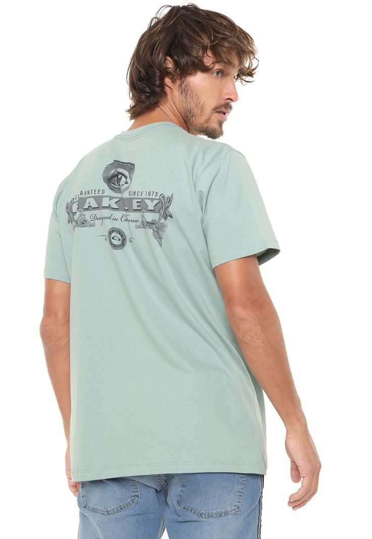 Camiseta Oakley Dollar Bill Verde