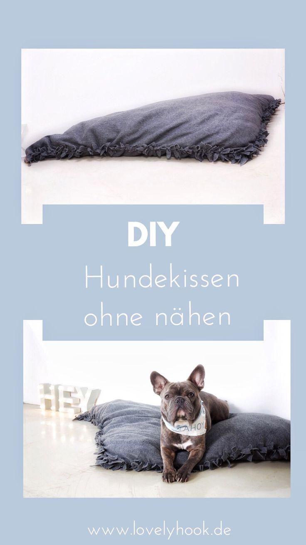 DIY Hundekissen ohne nähen