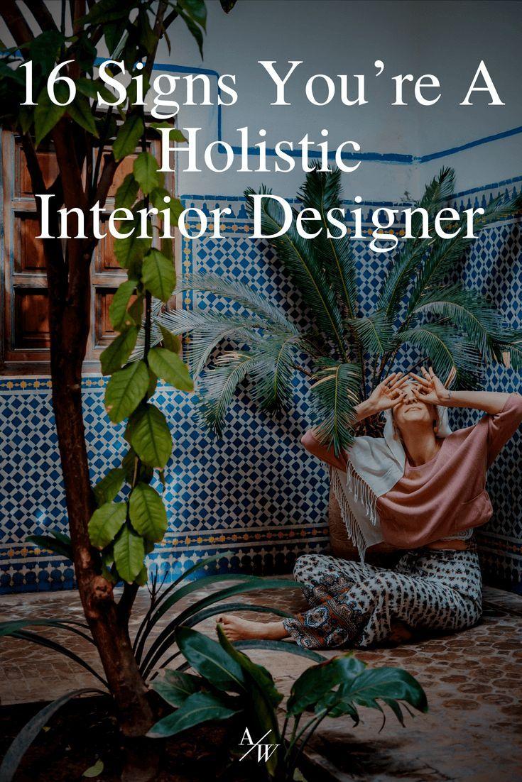 16 signs youre a holistic designer