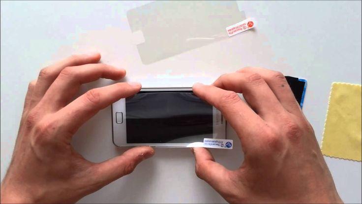Inštruktážne video ako jednoducho nalepiť Ochrannú fóliu na displej telefónu. Ochranná fólia (screen protector) sa skladá z troch vrstiev. Vrstva 1 a vrstva ...