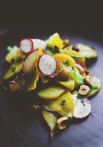 beet hazelnut radish