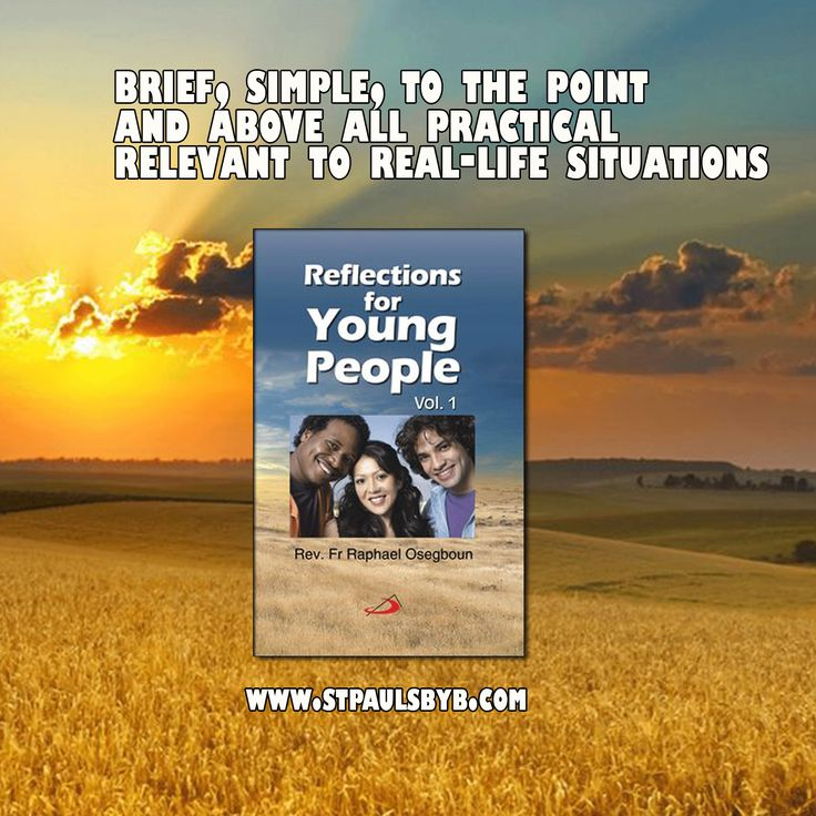 This book offers valuable guidance and precious tips on how to cope with the challenges that life presents from time to time. The reflections offered are brief, simple, to the point, and above all practical and relevant to real-life situations. This book will be a helpful companion for the young as they journey through life.   ‪#‎YoungTeens‬ ‪#‎Reflections‬ ‪#‎BookMarketing‬ ‪#‎SelfHelp‬ ‪#‎Books‬