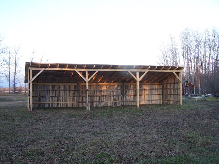 10 best tractor shed images on pinterest pole barns for Cost of building a horse barn