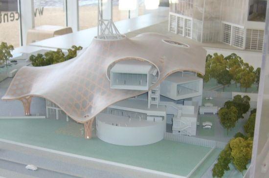 Model. Centre Pompidou-Metz, France, 2010 | Shigeru Ban and Jean de Gastines