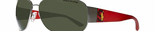 Polo Ralph Lauren PH306 Big Pony Player Sunglasses The classic aviator style has been given a sleek modern update in these Polo Ralph Lauren sunglasses. They feature a gunmetal frame with bar to the top and plastic arms with Ralph Laurens signature Po http://www.comparestoreprices.co.uk/womens-accessories/polo-ralph-lauren-ph306-big-pony-player-sunglasses.asp