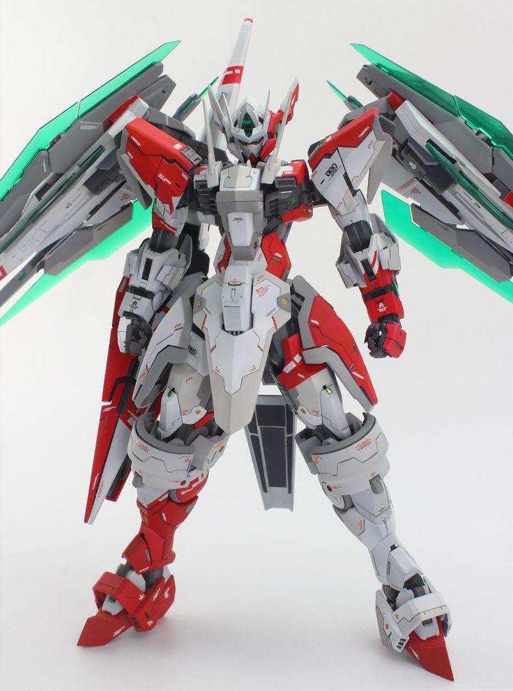 GUNDAM GUY: MG 1/100 00 Qan[T] Tekkeman - Custom Build [Part 1]