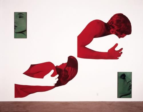 Green Kiss/Red Embrace (Disjunctive) | The Broad