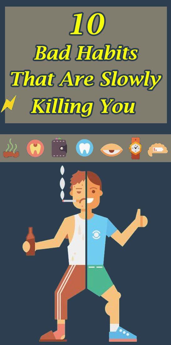 10 Bad Habits That Are Slowly Killing You – Dianna Garofalo