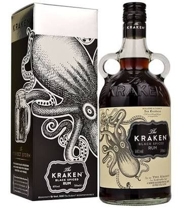 I just think this one looks cool because of the shape of the bottle and the octopus on the label.