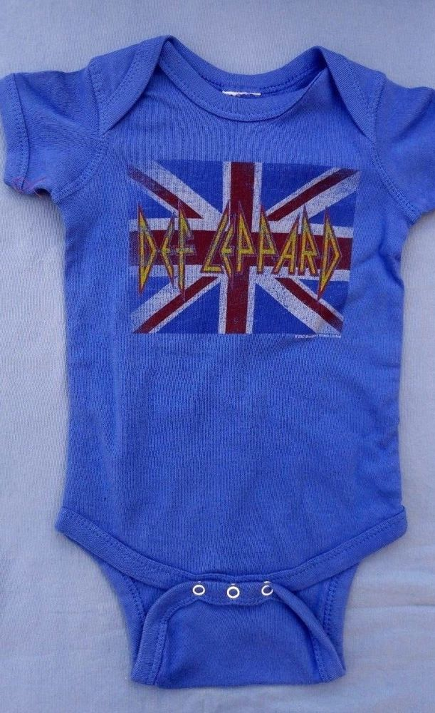 Def Leppard Baby Short Sleeve Bodysuit