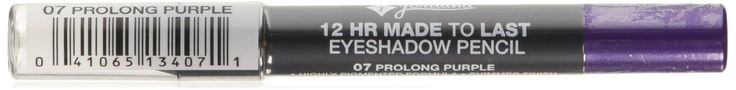 Jordana 12 Hour Made To Last Eyeshadow Pencil, Prolong Purple. JORDANA 12 Hr Made To Last Eyeshadow Pencil - Prolong Purple.