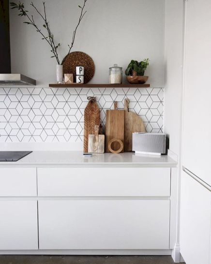 65 Gorgeous Modern Scandinavian Kitchen Design Trends