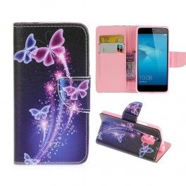 Huawei Honor 7 Lite perhoset puhelinlompakko.