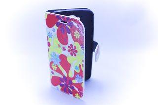 Estuche Alcatel One Touch C7 Pop Cuero Flore Colores — HighTeck Store