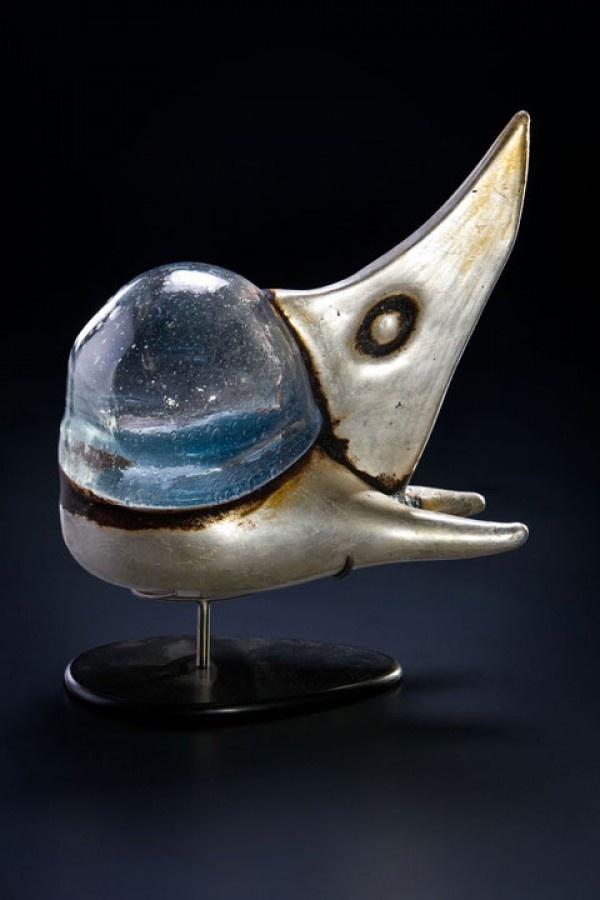 Naves espaciales de cristal soplado  AK-Shido  Rik Allen