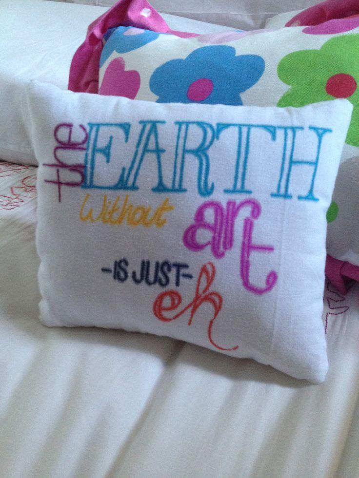 Diy Quote Throw Pillows : DIY Quote Pillow DIY crafting. Pinterest