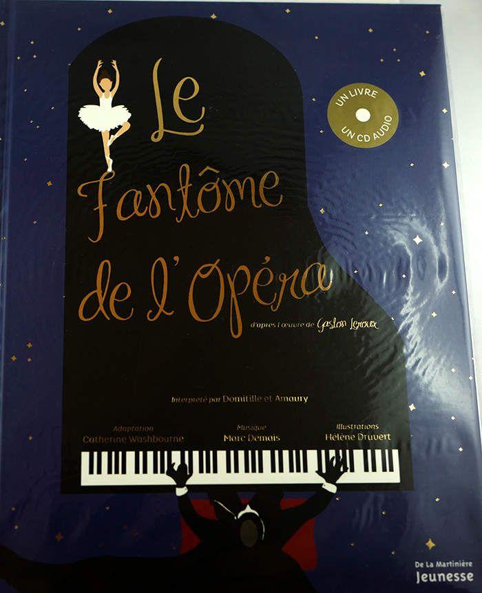 Voici une nouvelle idée de cadeau qui alliera musique et lecture et vous fera revivre cet incroyable conte. Une adaptation réussie de l'inoubliable et envoûtant conte de Gaston Leroux. Le Fantôme de l'Opéra Envoûtant et Inoubliable Une adaptation réussie....
