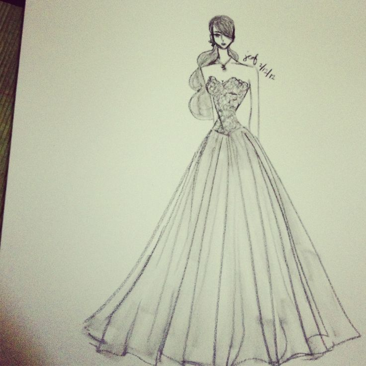 17 Best Images About Sketch The Clothes On Pinterest Fashion Sketches Big Wedding Dresses And