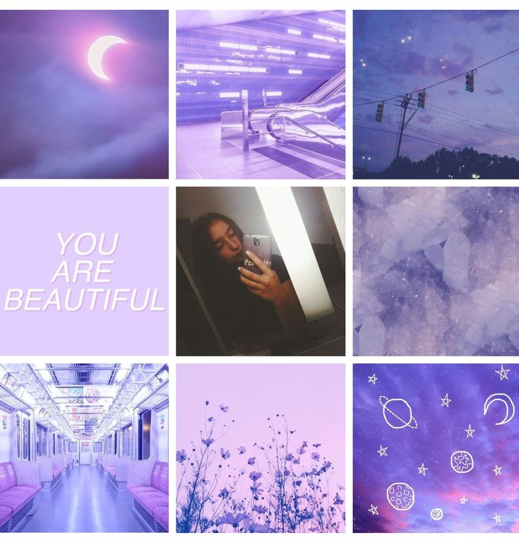 Tons of awesome purple aesthetic collage wallpapers to download for free. 🌌💜purple aesthetic collage 💜🌌 | Purple aesthetic ...