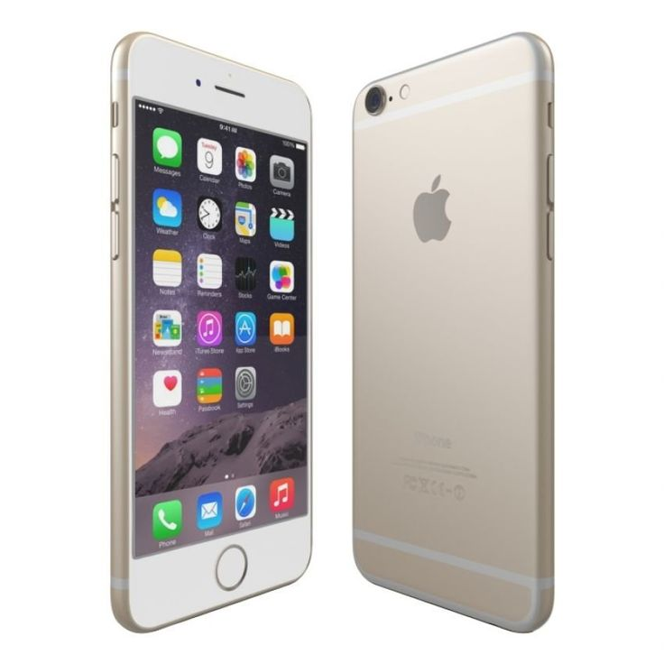 iPhone 6 Plus Gold 16GB. Not just bigger display it's better display with 1920 x 1080 resolution, the new A8 chip delivers more power, with new video features 1080p HD at 60 fps, slo-mo and time lapse mode, with a finger print security, this iPhone 6 Plus 16GB sure is super cool. http://www.zocko.com/z/JHxJc