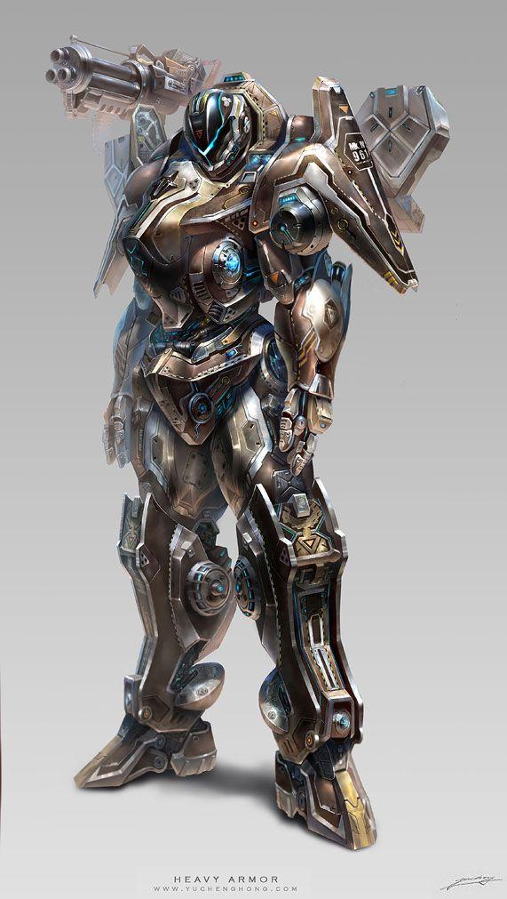 Project D Heavy Armor M Digital Art Character Design Fantasy