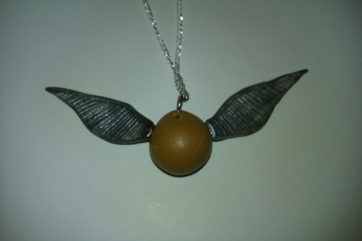 So, I caught a golden snitch for my friend's birthday present.