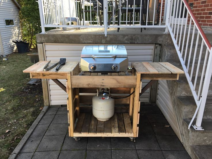 25 best ideas about bbq stand on pinterest garden bar outdoor garden bar and garden table. Black Bedroom Furniture Sets. Home Design Ideas