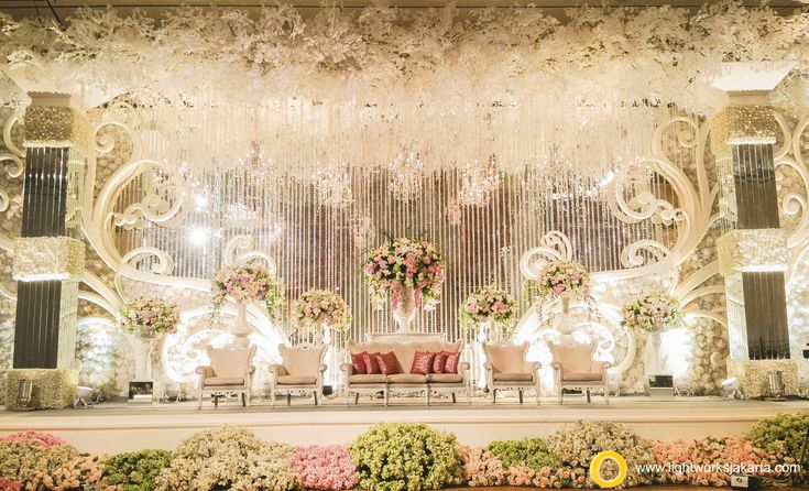 Elbert and Cindy's Wedding Reception | Venue at Ritz-Carlton Pacific Place | Organized by Flair WO | Wedding Entertainment by Andew Lee Entertainment | Photography by Axioo | Decoration by Lotus Design | Lighting by Lightworks  www.lightworksjakarta.com