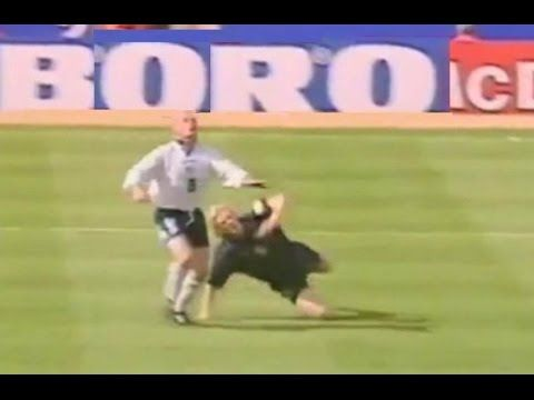 Paul Gascoigne GAZZA all career goals (almost) - YouTube