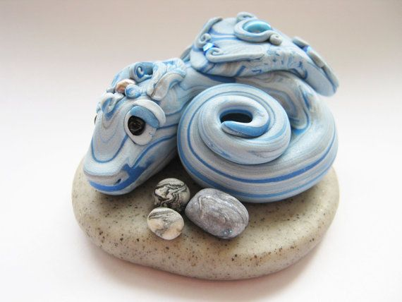 Sleeping Dragons by Rhian on Etsy