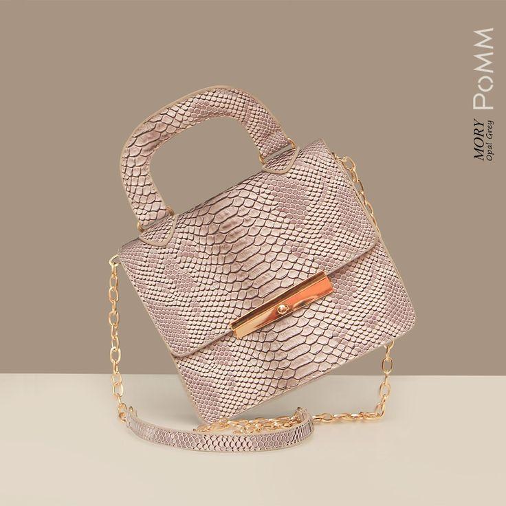 Mory Opal Gray Get this bag at www.pommkorea.com