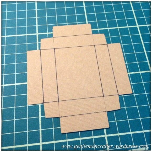 Scan It Saturday - Matchbox Cutting File for Brother Scan N Cut - Score Lines