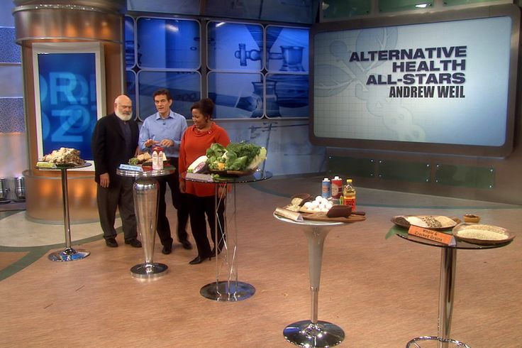 Dr. Andrew Weil's Ultimate Eating Plan, Pt. 1