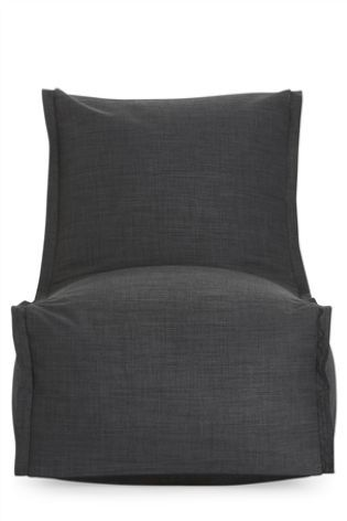 Grey Modular Lounger Bean Bag