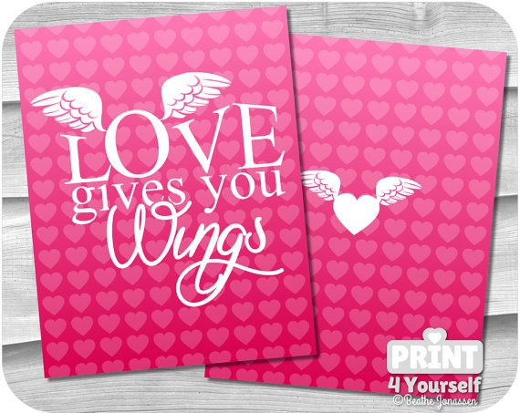 Erin Condren Life Planner Wings Of Love Cover  by Print4Yourself