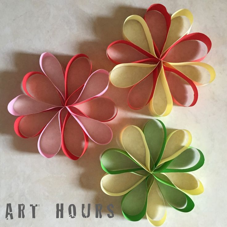 ArchGuide Tutorial Using Paper Strips To Make A Floral Decoration