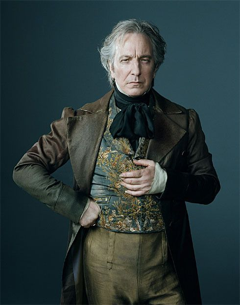 Alan Rickman as Judge Turpin from Tim Burton's Sweeney Todd in a Colleen Atwood costume.