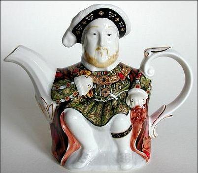 King Henry VIII Teapot: