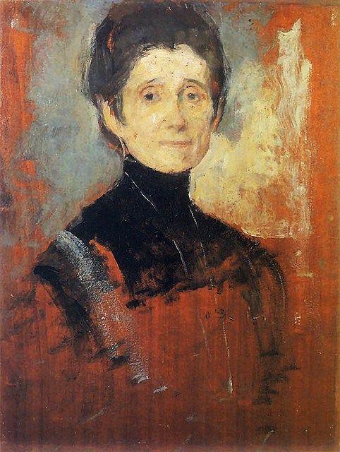 It's About Time: Polish Impressionist Olga Boznanska 1865-1945, self-portrait