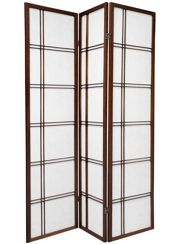 6 Ft Tall Double Cross Shoji Screen Room Divider Shoji Screen Shoji Room Divider