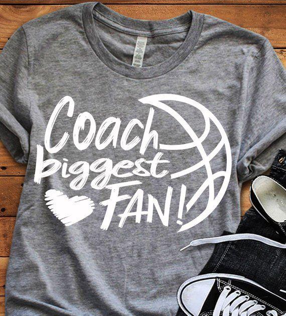 Coach größter Fan Svg, Basketball SVG, größter Fan, Basketball Fan Shirt Design, Basketball geschnittene Datei, SIS, Schwester Shirt   – SVG files