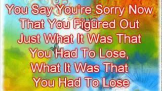 Danielle Peck - Sucks To Be You Lyrics, via YouTube.