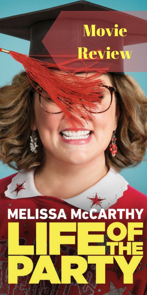 Melissa McCarthy in Life of the Party (Movie Review)