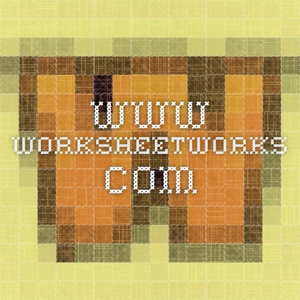 www.worksheetworks.com - Maths