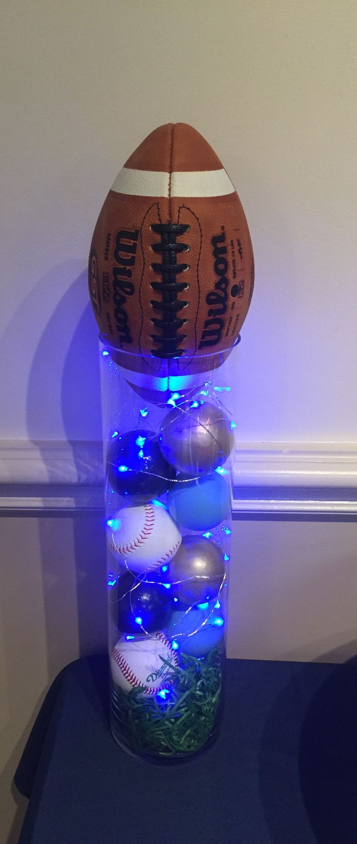 Sports themed centerpieces