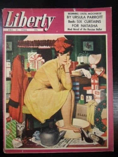 Liberty Magazine 1946 december 21 SIX CURTAINS FOR NATASHA: RUSSIAN BALLET