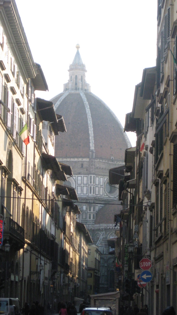 All roads leading to the Duomo, Florence