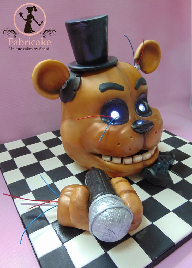 Five Nights At Freddys Cake TEMATICA FIVE NIGHTS AT