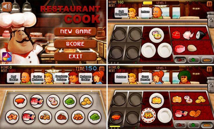 Lubisz gotować,piecz czy też smażyć ? Jeżeli tak to kliknij w obrazek i zagraj w gry kucharskie.